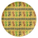 Tribal Dance Plates