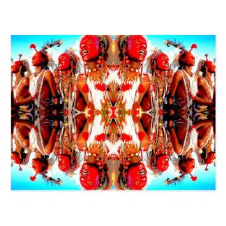 Tribal Dance Post Card