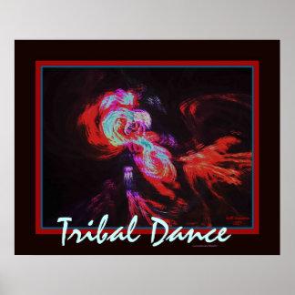 TRIBAL DANCE POSTER