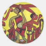Tribal Dance Stickers