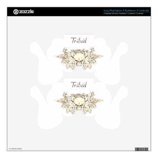Tribal Del Sol - cráneo híbrido Skins Para Mandos PS3