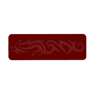 TRIBAL DESIGN Print Your Own Address Label Seal