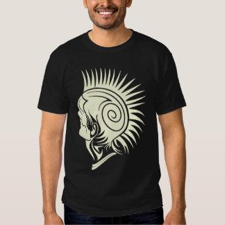 Tribal Design Punk Mohawk Shirt