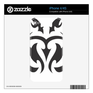 Tribal Design Skins For iPhone 4S