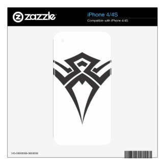 Tribal Design iPhone 4S Skins