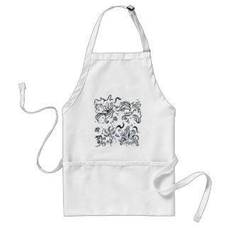 Tribal designs pattern adult apron