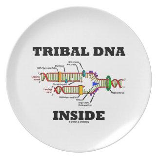 Tribal DNA Inside (DNA Replication) Dinner Plate