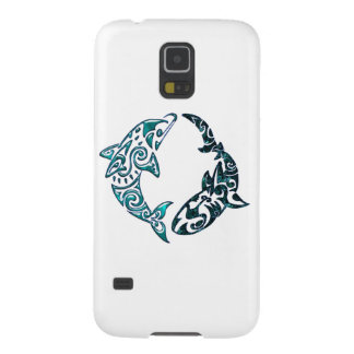 Tribal Dolphin and Shark Tattoo Samsung Galaxy Nexus Cases
