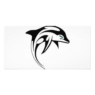 Tribal Dolphin Art #028 Card