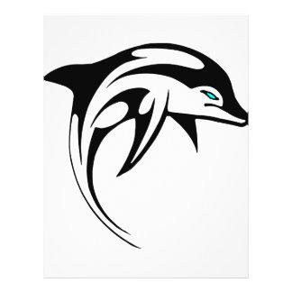 Tribal Dolphin Art #028 Flyers