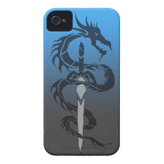 tribal dragon and sword phone case iPhone 4 cover