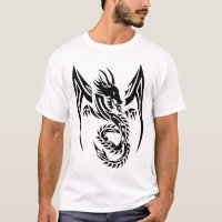 Tribal Dragon b T-Shirt