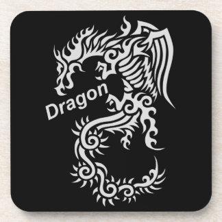 Tribal Dragon Beverage Coaster