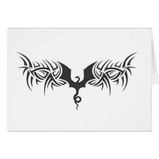 tribal dragon card