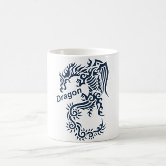 Tribal Dragon Coffee Mug