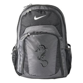 Tribal Dragon Decal Version Nike Backpack