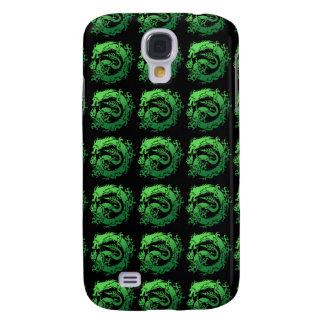 Tribal dragon galaxy s4 case