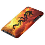 Tribal Dragon in Flames Case-Mate iPod Touch Case