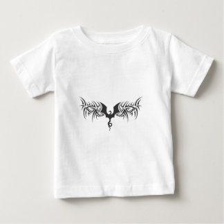 tribal dragon infant t-shirt