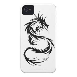 tribal dragon iphone iPhone 4 cases