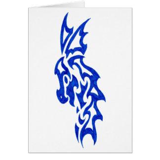 Tribal Dragon Majestic Card