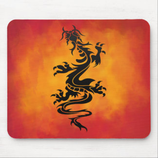 Tribal Dragon Mousepad