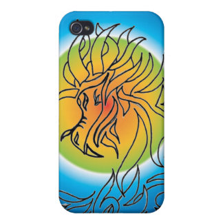 Tribal Dragon  of the eclipse iPhone 4 Cover