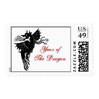 Tribal Dragon Postage