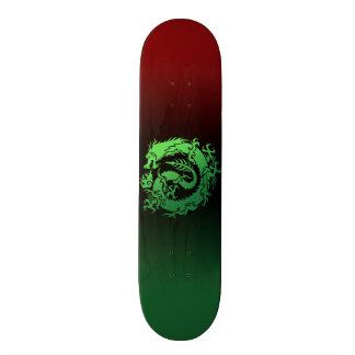 Tribal dragon skate board