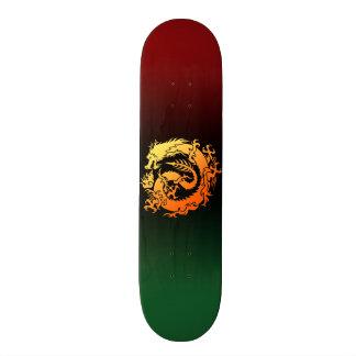 Tribal dragon skateboards