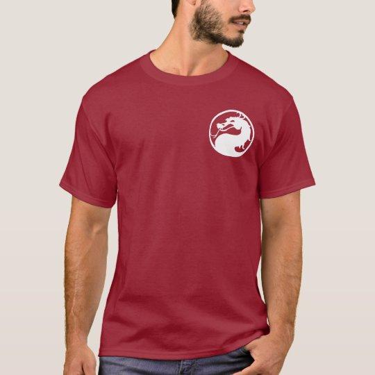 Tribal Dragon Symbol Short Sleeve Dark T-Shirt