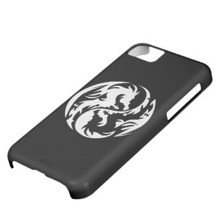 Tribal Dragons (black) iPhone 5C Case