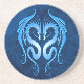 Tribal Dragons, blue Coaster