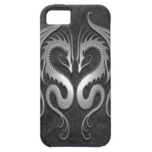 Tribal Dragons, dark iPhone 5 Cover