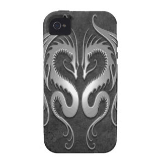 Tribal Dragons, dark iPhone 4/4S Case