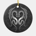 Tribal Dragons, dark Ornaments