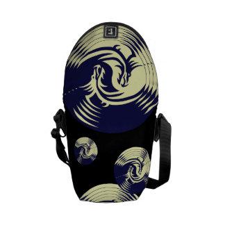 Tribal Dragons Yin Yang (Customizable) Courier Bag
