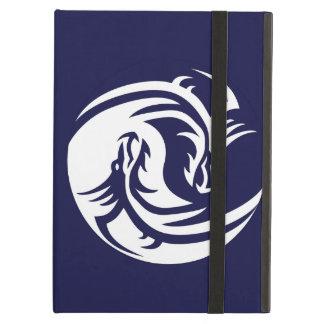 Tribal Dragons Yin Yang (Customizable) iPad Covers