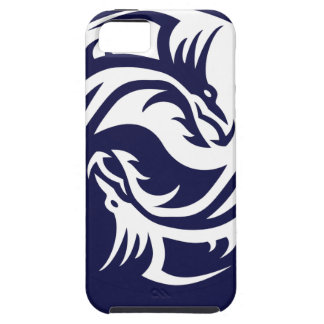 Tribal Dragons Yin Yang (Customizable) iPhone SE/5/5s Case