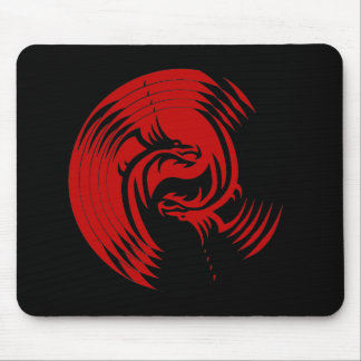 Tribal Dragons Yin Yang (Customizable) Mousepad
