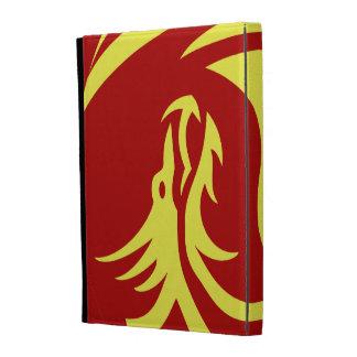 Tribal Dragons Yin Yang Customize it iPad Folio Covers