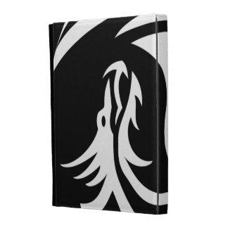 Tribal Dragons Yin Yang Customize It iPad Folio Cover