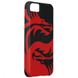Tribal Dragons Yin Yang (Customize it!) iPhone 5C Cover