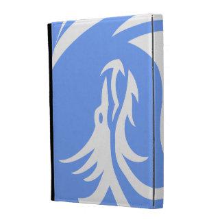 Tribal Dragons Yin Yang Personalize It iPad Folio Cases