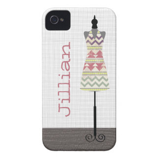 Tribal Dress Form iPhone 4 Case-Mate Barely There™