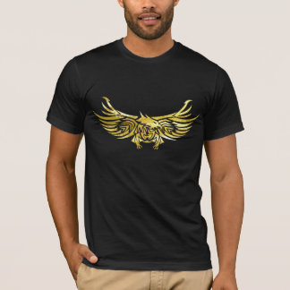 tribal eagle 2 dark tee