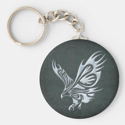 Tribal Eagle Key Chain