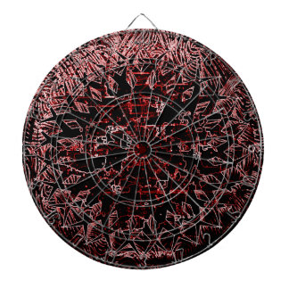 Tribal Effect Red Dart Boards