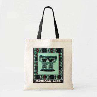 Tribal effigy - Aftrican Art Budget Tote Bag