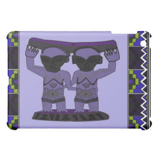 Tribal effigy - Aftrican Art iPad Mini Cover